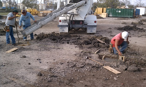 Concrete Paving & Parking Lot Installation